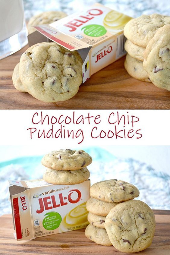 CHOCOLATE CHIP PUDDING COOKIES #recipes #tasty #tastyrecipes #food #foodporn #healthy #yummy #instafood #foodie #delicious #dinner #breakfast #dessert #lunch #vegan #cake #eatclean #homemade #diet #healthyfood #cleaneating #foodstagram