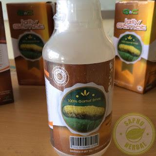 QnC Jelly Gamat Obat Infeksi Payudara / Mastitis Herbal Mengobati Secara Alami, Efektif & Aman