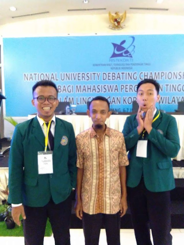 THE STUDENTS OF PBI UM METRO JOINED THE NATIONAL UNIVERSITY DEBATING CHAMPIONSHIP 2017