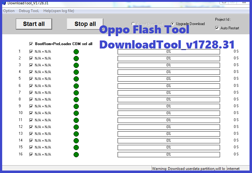 Msm Download Tool and All Oppo Flash Tool Download Here