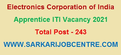 ECIL ITI Trade Apprentice Vacancy 2021 Apply Online