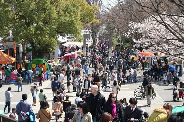 OUTDOOR DAY JAPAN 2018 at Yoyogi Park, Tokyo