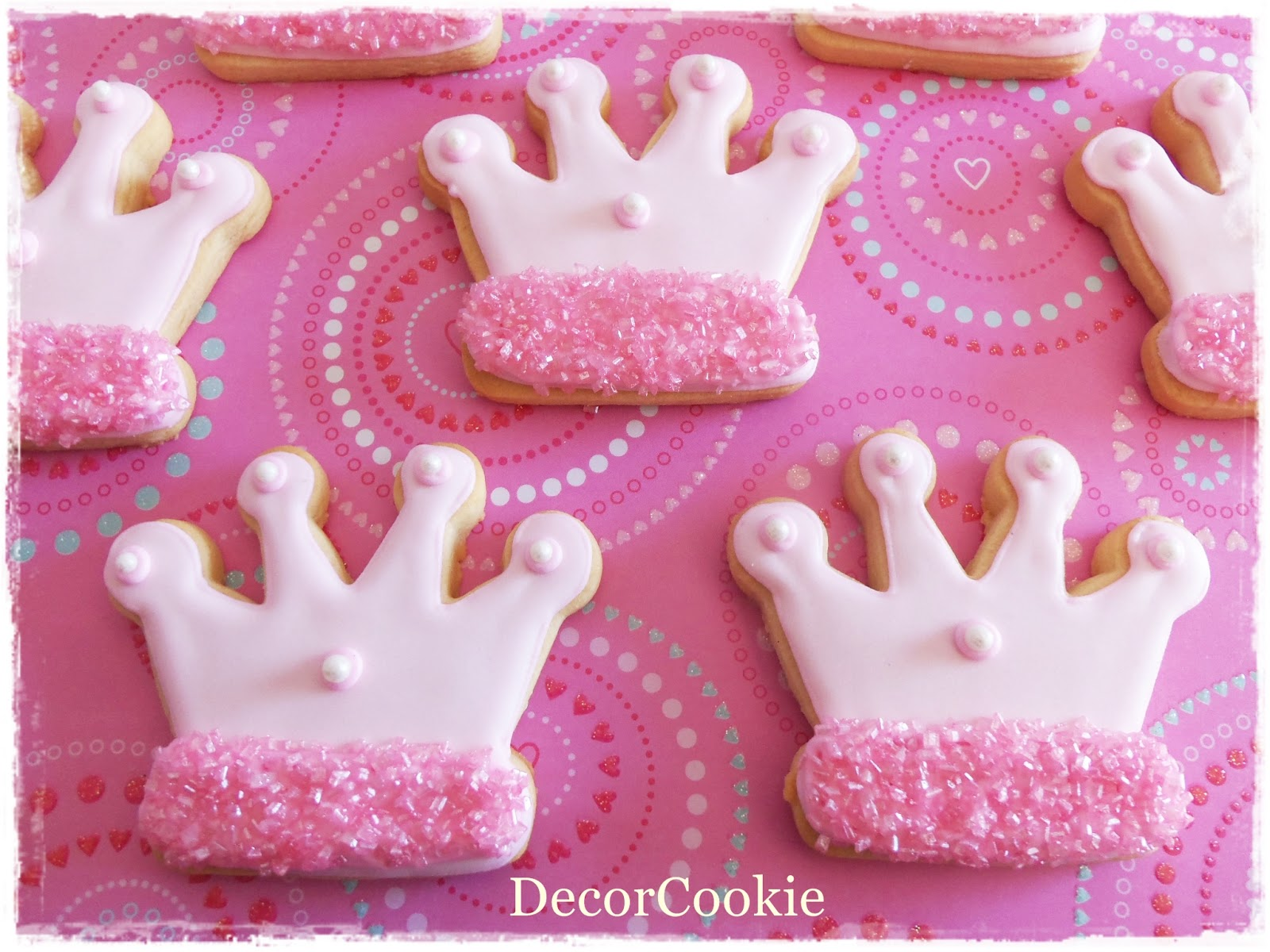 Galletas Decoradas De Princesas Galletas Decoradas Decorcookie Galletas Para Princesas