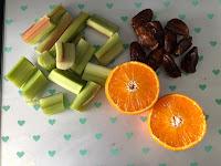 Ingrédients compote rhubarbe dattes sans sucres ajoutés