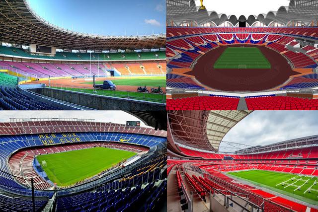 9 Stadion Sepak Bola Terbesar di Dunia