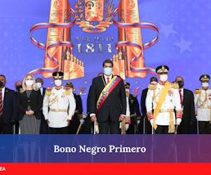 """Inicia la entrega del Bono  """"Negro Primero"""" Enero 2021 a través de la plataforma patria"""