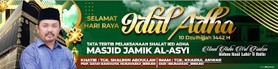 Banner / Spanduk Idul Adha 2021