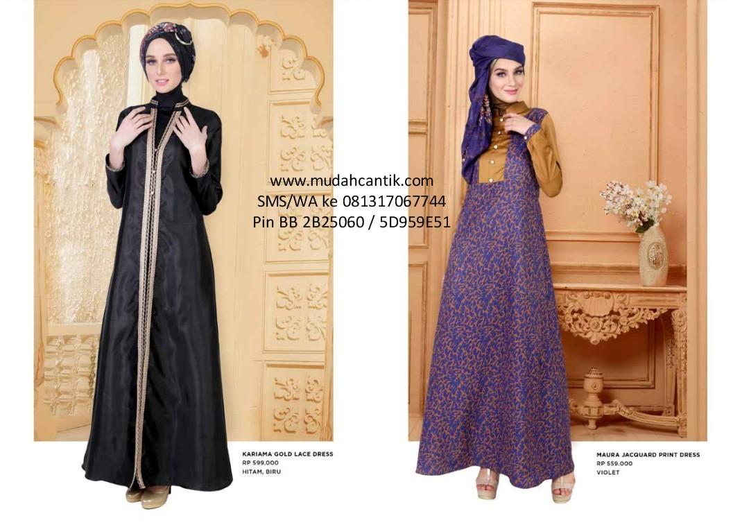 Baju Lebaran Gamis Elegan Cantik 2016 Baju Muslim