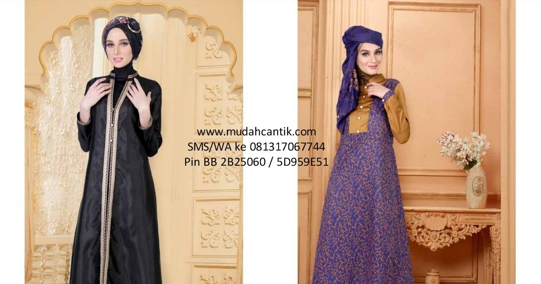 Baju Lebaran Gamis Elegan Cantik 2016 Baju Muslim Toko