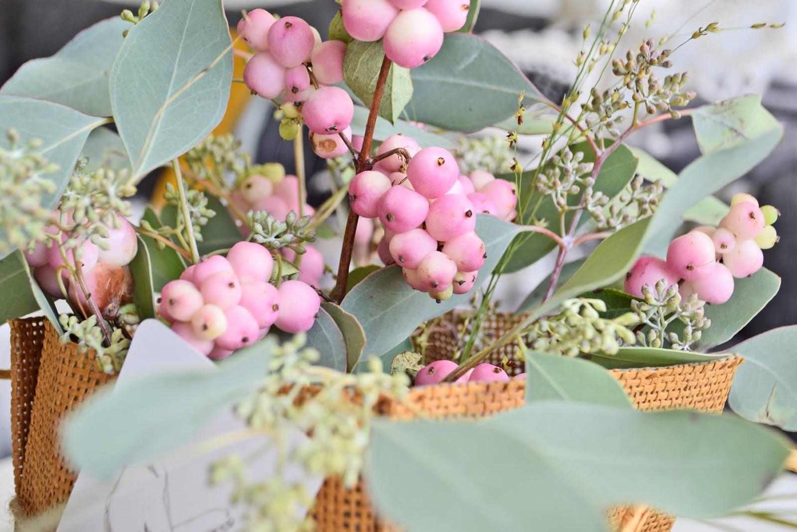Naturalne kwiaty na jesień