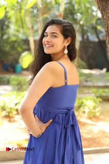 Actress Prasanna Stills in Blue Short Dress at Inkenti Nuvve Cheppu Movie Platinum Disc Function  0030.JPG