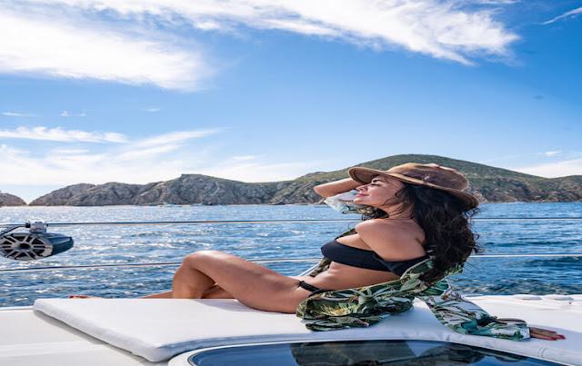 Yacht in Cabo San Lucas