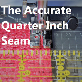 The Accurate Quarter Inch Seam tutorial