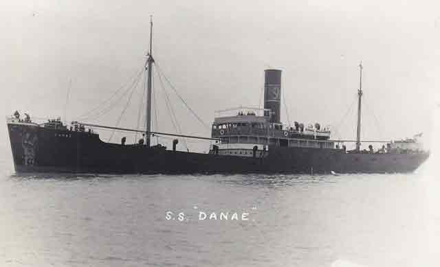 Norwegian freighter SS Roy, sunk by an E-boat off Cromer on 13 October 1941 worldwartwo.filminspector.com