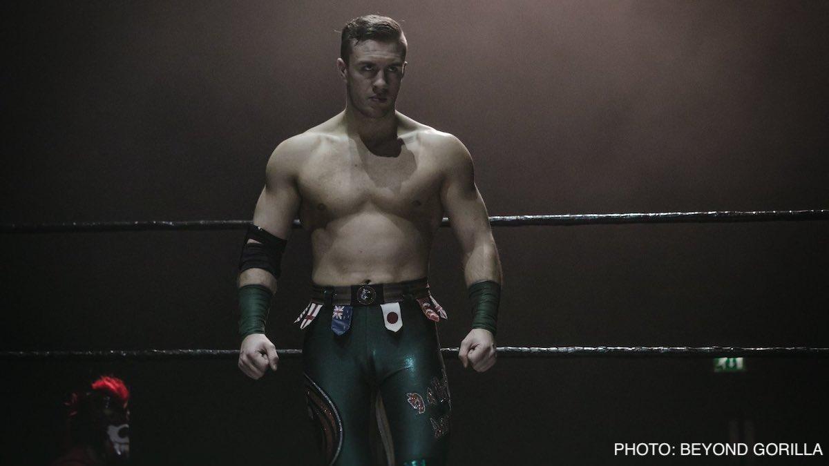 Will Ospreay anuncia que já pode voltar aos ringues
