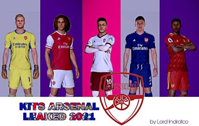 Arsenal Leaked Kits Season 2020-2021 For PES 2017