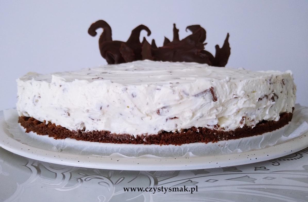 Ciasto śmietanowe bez pieczenia i bez żelatyny