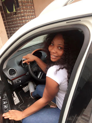 Ahead Of Birthday, Actress Doris Ogala Spoils Self With Car Gift