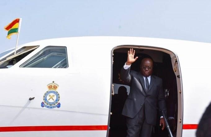 Akufo-Addo off to Equatorial Guinea for 3 days