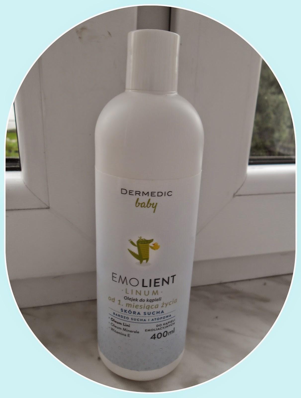 LINUM baby olejek do kąpieli od 1 miesiąca życia - recenzja