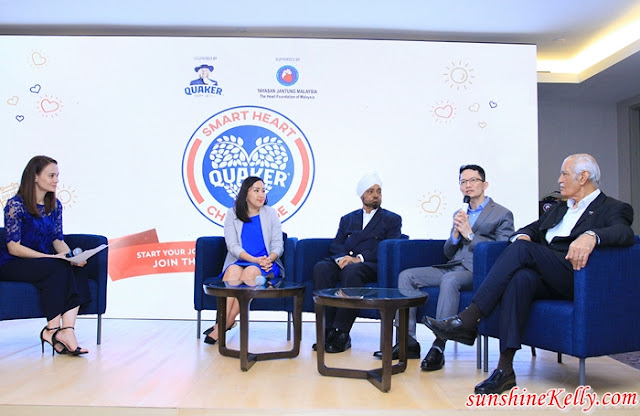 Panel Discussion, Quaker, Quaker Oats, Oats, Heart-Healthy Lifestyle, Quaker Smart Heart Challenge, Quaker Malaysia