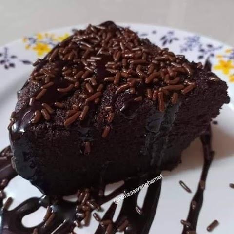 Resipi Kek Milo Viral 3 bahan, mudah sangat!