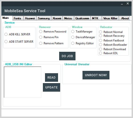 MobileSea Service Tool Full Cracked Free Download
