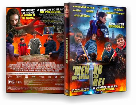 CAPA DVD – o menino que queria ser rei – ISO