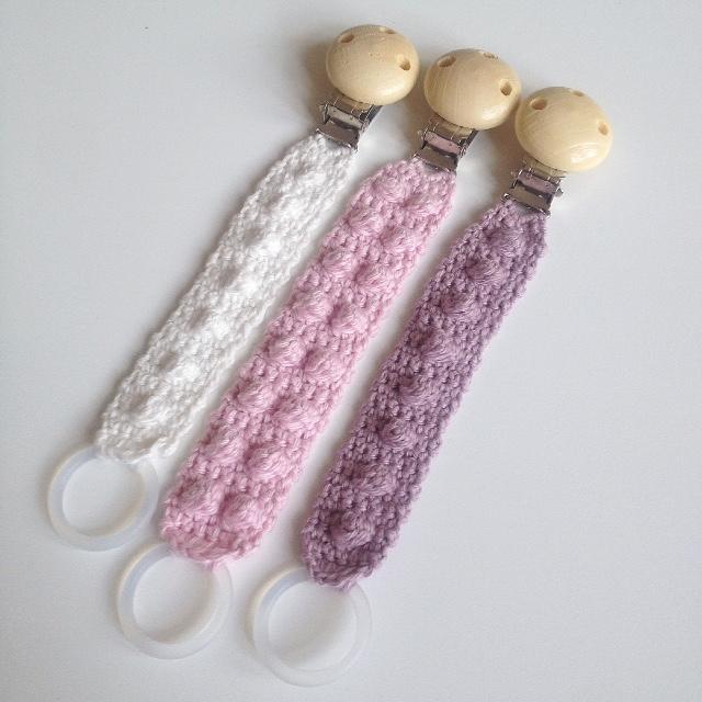 strikket suttesnor opskrift