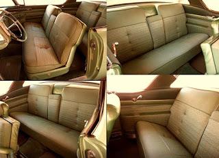 1958 Cadillac Coupe de Ville Seats