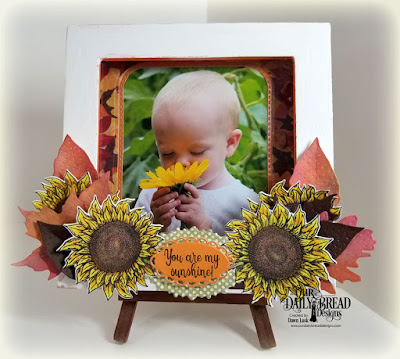 Our Daily Bread Designs Stamp Set: Be a Sunflower, Paper Collection:Follow the Sun Our Daily Bread Designs Custom Dies:Sunflower, Stitched Leaves, Double Stitched Rounded Rectangles, Rounded Rectangles, Ornate Ovals
