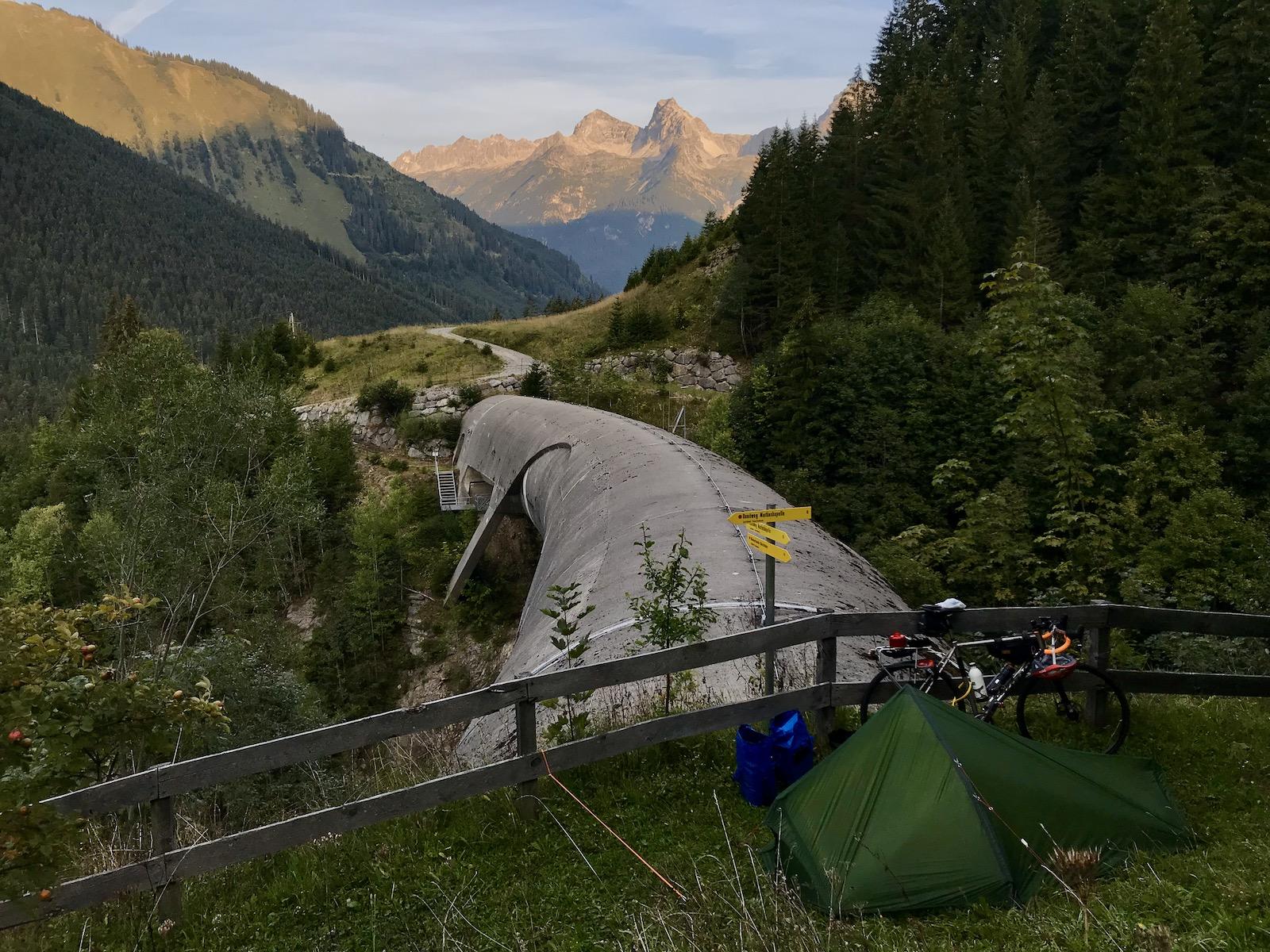 Wild Camping Austria Tim Wiggins