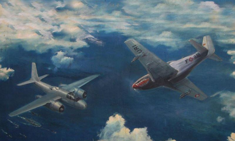 Dogfight Mustang dan Invader