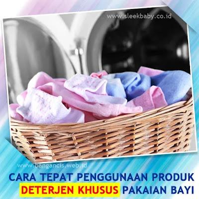 Cara Penggunaan Deterjen Pakaian Bayi