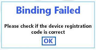 imoo kw Q12 Binding Failed