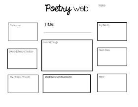The Big Kids' Hall: Poetry Web Freebie