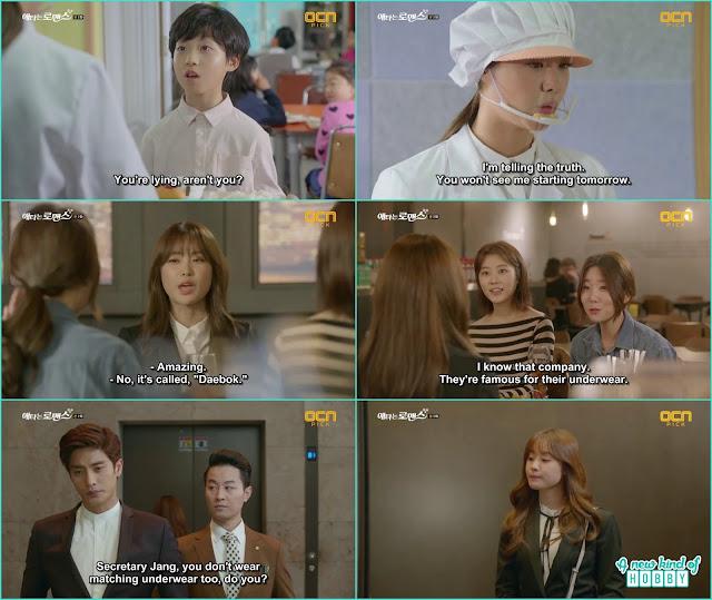 yoo mi told her friends she starting work at daebok as a nutritionist - My Secret Romance: Episode 2