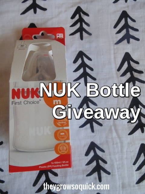 NUK first choice bottle giveaway