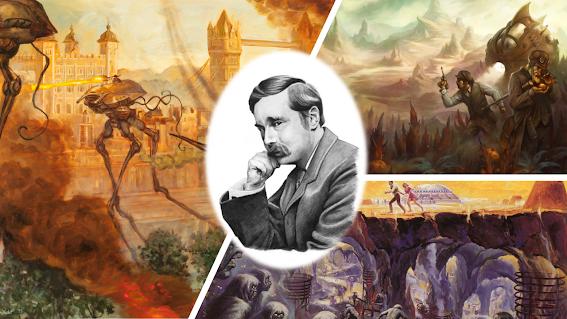 Cinco libros de HG Wells que deberías leer
