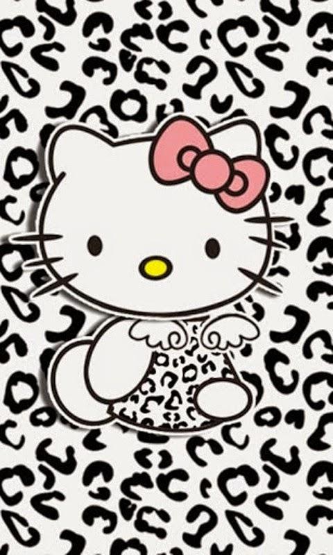 Gambar wallpaper hello kitty untuk Hp android