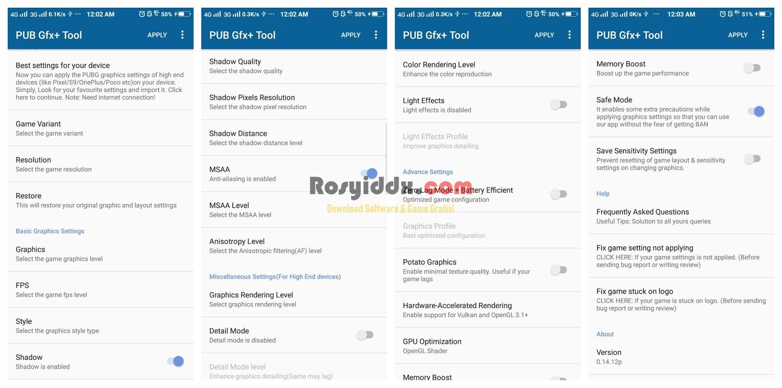 Config Pubg Mobile 0 5 0 Unlock Hdr Anti Aliasing For
