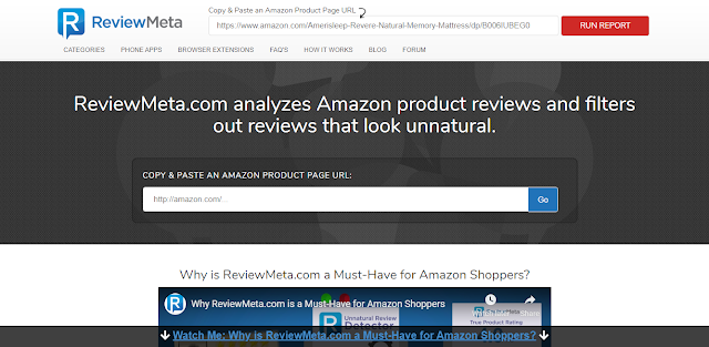amazon product reviews analyzer