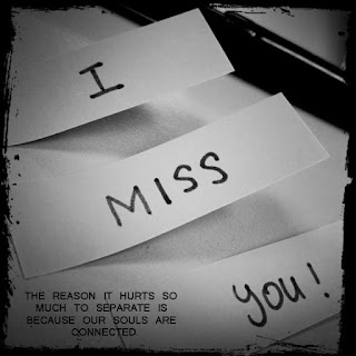 i miss you notes image with quote