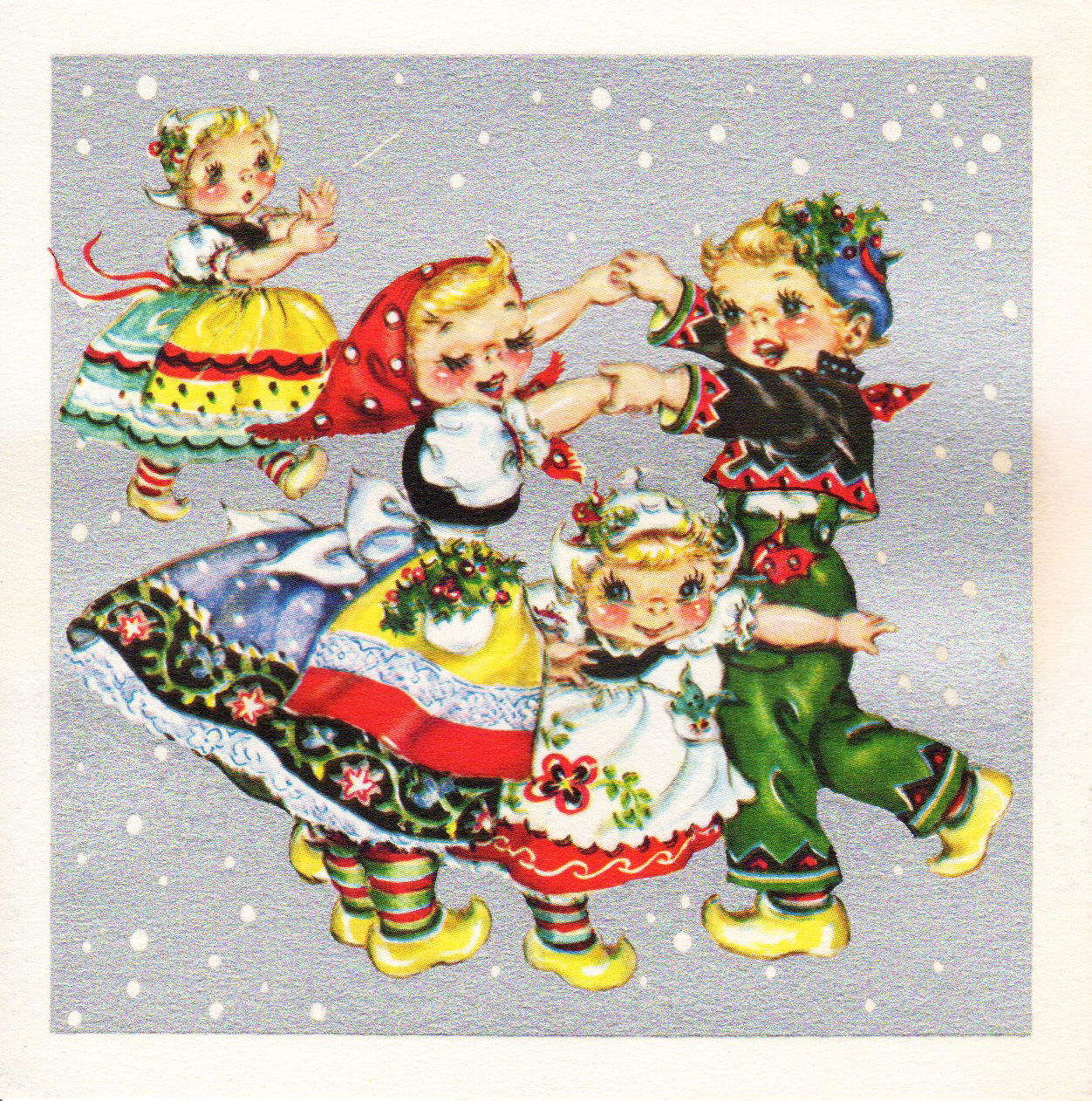 two crazy crafters beautiful vintage christmas cards