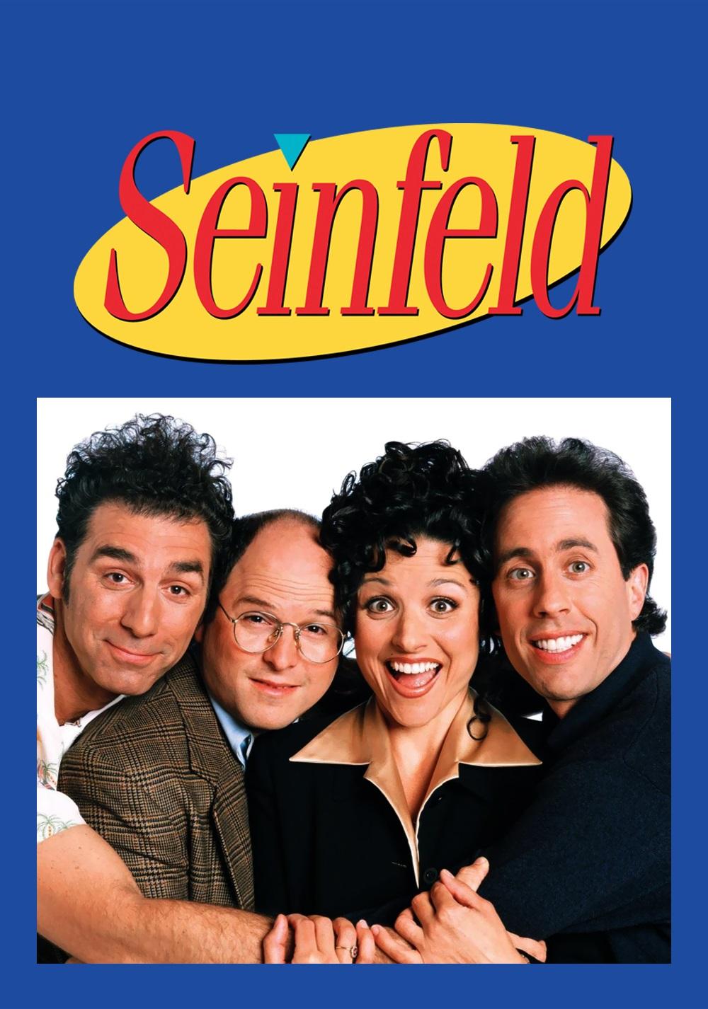Seinfeld Serie Completa Dual Latino/Ingles 1080p