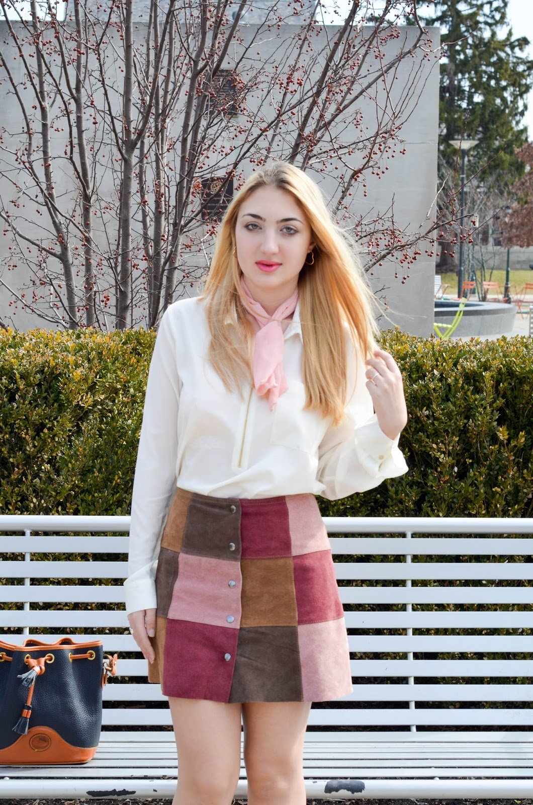 The Parisian Chic Patchwork Skirt
