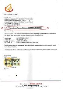 Surat Permohonan Pinjaman Kontainer Ke Pelayaran Indonesia