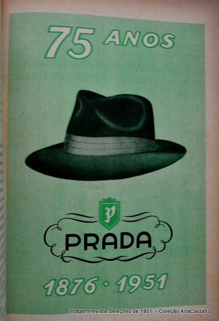 antiga propaganda Chapéu Ramenzoni de 1949  5d88c3d676e