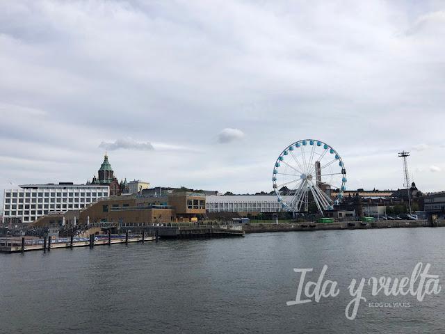 Qué hacer en Helsinki: noria y piscinas