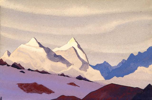 Николай Рерих - Западные Гималаи
